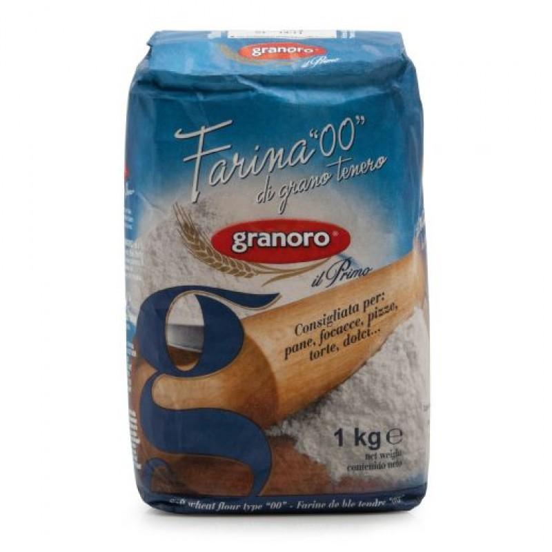 Farina per pasta 00 1 kg granoro meel foodelicious for Cucinare 1 kg di pasta